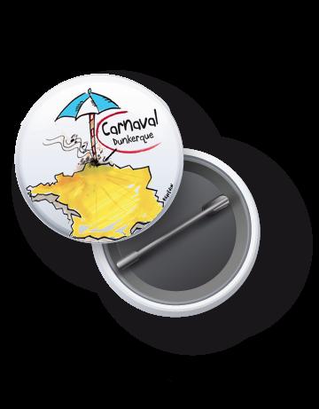 badge -carnaval- Dunkerque -c-est- ici-helpkdo