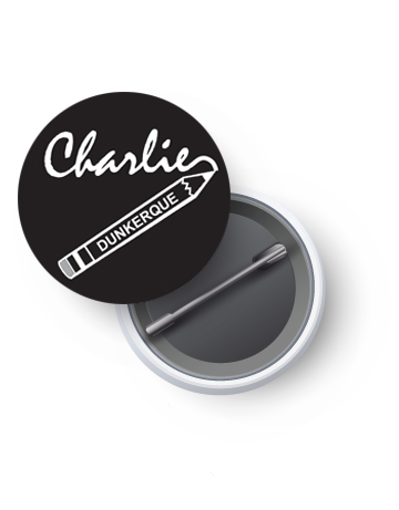 badge -Charlie- Dunkerque-helpkdo