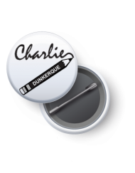 badge -Charlie- Dunkerque-helpkdo
