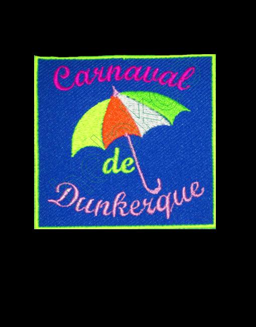 écusson brodé carnaval de Dunkerque